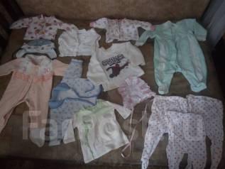 Пакетик детских вещей на девочку 60-66 размер