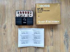 Boss GP-20 Amp Factory - гитарный процессор