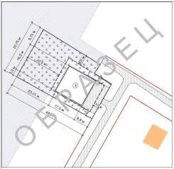 Схема планировочной организации земельного участка под ИЖС