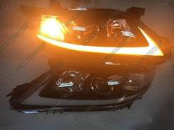 Фары Toyota Camry 40 ( Камри 2009-2011 ) стиль Lexus черные