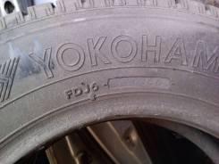 Yokohama Guardex F600. Зимние, без шипов, износ: 20%, 1 шт