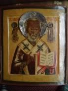 Икона 17 века Св. Николай. Оригинал