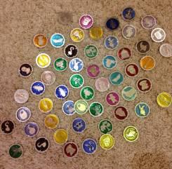 Продам коллекционные медальоны Шрека. Оригинал