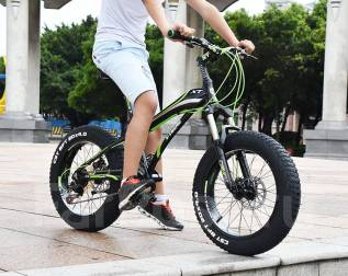 "Fatbike X-Treme. Велосипед фэтбайк 20"". Под заказ"