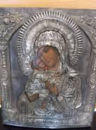 Икона Богородица Владимирская 19в. 31х26. Оригинал