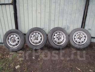 Продам грузовые колеса 155/80 R-13 LT 8pr. x13 4x100.00 ЦО 65,0мм.