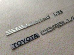 Эмблема багажника. Toyota Corolla, AE91