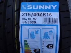 Sunny SN3630. Летние, 2014 год, без износа, 4 шт
