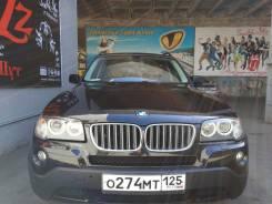 BMW X3. автомат, 4wd, 2.5 (218 л.с.), бензин, 50 000 тыс. км