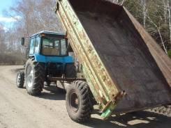 Самодельная модель. Продается тракторный прицеп, 5 000 кг.