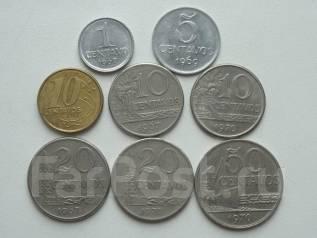 Бразилия подборка из 8 монет. Без повторов! Торги с 1 рубля!