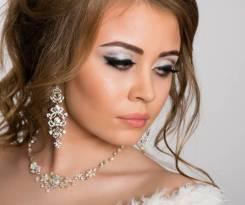 Свадебные/вечерние прически/макияж