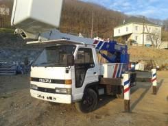 Isuzu Elf. Продам 2000 г. автовышка в наличии во Владивостоке, 3 630 куб. см., 16 м.