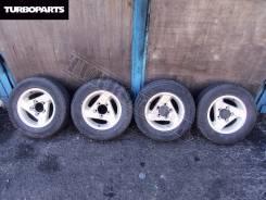 Литье Jimny Escudo Нива УАЗ + Резина Bridgestone ''15 [Turboparts]. 5.5x15 5x139.70 ЦО 110,0мм.
