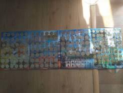 Вся коллекция 10 рублей биметалл и города воинской славы ЧЯП оригинал