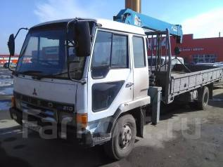 Mitsubishi Fuso. Продам кран-борт фусо, 8 200 куб. см., 5 000 кг., 10 м.