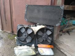 Радиатор охлаждения двигателя. Toyota Corolla, CE106