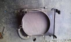 Радиатор охлаждения двигателя. Chevrolet Tracker Suzuki Grand Vitara, TL52, 3TD62 Suzuki Escudo, TL52W, TA52W, TD02W, TD32W, TD62W, TA02W, TD52W Двига...