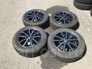 Японские колеса Dunlop DSX 175/65R14. 5.5x14 4x100.00 ET38 ЦО 57,0мм.
