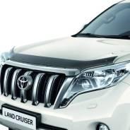 Дефлектор капота. Toyota Land Cruiser Prado, GDJ150W, TRJ150W, GDJ151W, GDJ150L, TRJ12, GRJ150W, GRJ150L, KDJ150L, GRJ151W Двигатели: 1GDFTV, 2TRFE, 1...
