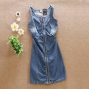 Платья джинсовые. 38, 40, 42