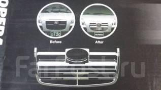 Молдинг решетки радиатора. Hyundai Starex