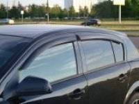 Ветровик на дверь. Opel Astra