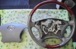Руль. Toyota: Celsior, Alphard, Camry Gracia, Brevis, Aristo, Hiace, Avensis, Land Cruiser Prado, Camry, Avensis Verso, Avalon, Chaser, Corolla, Crest...