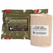 Индивидуальный перевязочный пакет. Оригинал. Армия США. NAR 12 дюймов.