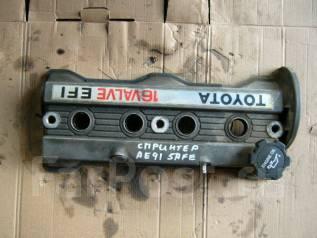 Крышка головки блока цилиндров. Toyota Carina, AT170, AT170G Двигатель 5AFE