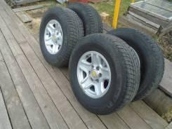 Продам колёса. x16 6x139.70 ET15 ЦО 110,0мм.