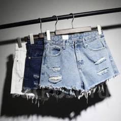 Шорты джинсовые. 38, 40, 42, 44, 46, 48. Под заказ