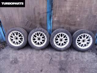 Литье Kosei Japan + Зимняя Резина Dunlop ''16 [Turboparts]. 7.0x16 5x100.00, 5x114.30 ET48