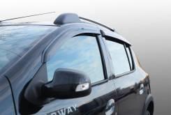 Ветровик на дверь. Renault Sandero Renault Sandero Stepway