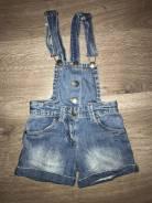 Шорты джинсовые. Рост: 104-110, 110-116 см