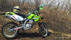 Kawasaki KLX 250. 248 куб. см., исправен, птс, с пробегом