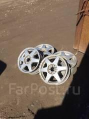 Bridgestone. 6.0x15, 5x100.00, 5x114.30, ET45, ЦО 70,0мм.