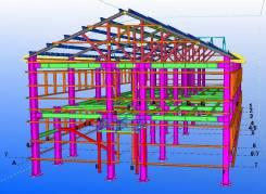 Проектирование, изготовление и монтаж металлоконструкций