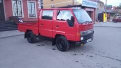 Toyota Hiace. 4WD МКПП diesel грузо-пассажирский, 2 500 куб. см., 1 250 кг.