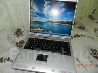 "Samsung. 14"", 1 400,0ГГц, ОЗУ 768 Мб, диск 80 Гб, аккумулятор на 1 ч."