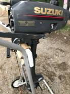 Suzuki. 2,20л.с., 2х тактный, бензин, нога S (381 мм)