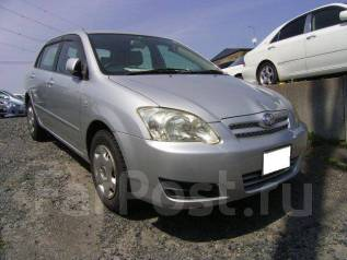 Toyota Allex. автомат, 4wd, 1.5, бензин, 88 000 тыс. км, б/п, нет птс. Под заказ