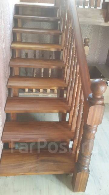 Находка изготовление лестниц из натурального дерева