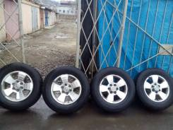 Продам 4 колеса с дисками 265/65R17. x17