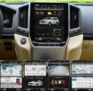 Магнитола. Toyota Land Cruiser, GRJ200, J200, URJ200, UZJ200, UZJ200W, VDJ200 Двигатели: 1GRFE, 1VDFTV, 2UZFE, 3URFE. Под заказ