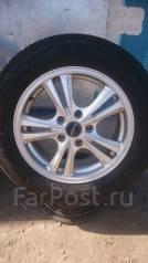 Отличный комплект колес 215/60/R16, Красивое Литье, без пробега по РФ. 6.5x16 5x114.30 ET53 ЦО 70,0мм.