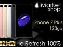Apple iPhone 7 Plus. Новый, 128 Гб, Черный