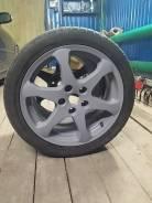 Пара колёс nissan 215/45 r17. 7.0x17 5x114.30 ET45