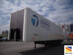 Kogel. Полуприцеп SP24 цельнометаллический фургон 2011, 28 800 кг.