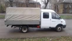 ГАЗ 330232. Продается ГАЗель Бизнес бортовая с тентом 6 мест 2 кабинник, 2 890 куб. см., 1 440 кг.
